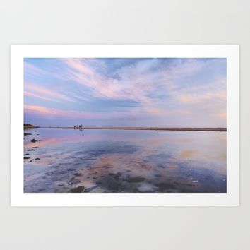 """Heaven walk"". Tarifa beach Art Print by Guido Montañés"