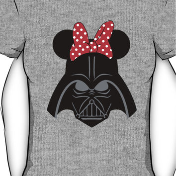 Darth Vader with Minnie Mouse ears Women's T-Shirt