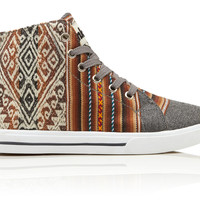 Inkkas London Sky High Top Shoes