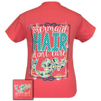 Girlie Girl Originals Mermaid Hair I don't Care T-Shirt