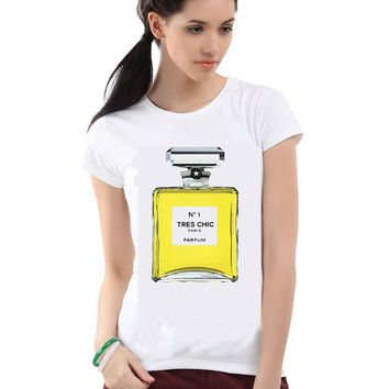 Tres Chic No1 Parfum T-shirt; Chanel Inspired (14-023)