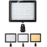 160 LED Video Light 12W 1280LM Dimmable for Canon Nikon DSLR Camera Camcorder