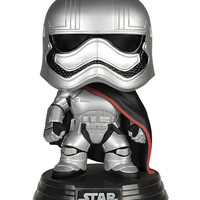 Funko Pop! Star Wars: Captain Phasma Bobble Head Multi One Size For Men 27283095701