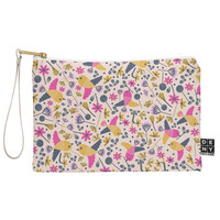 Gabriela Larios Birds and Leaves Pouch