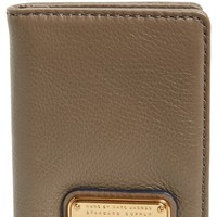 Women's MARC BY MARC JACOBS 'New Q' Leather Card Case