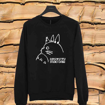 Studio Ghibli Totoro sweater Sweatshirt Crewneck Men or Women Unisex Size