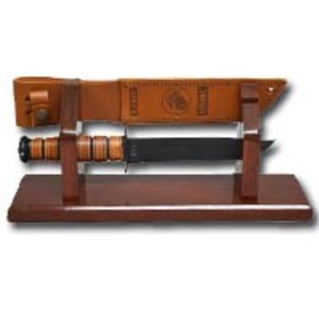 Ka-Bar Display in Cherry Finish