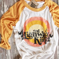the highway kind baseball tee
