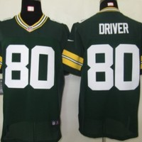 NFL Green Bay Packers #80 Donald Driver Green Football Jersey (x-large)