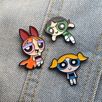 """Powerpuff Girls"" Pins"