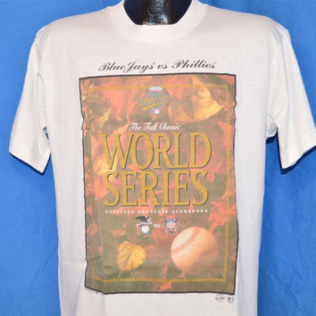 90s Toronto Blue Jays Philadelphia Phillies 1993 World Series t-shirt Large