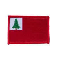 New England Flag Patch