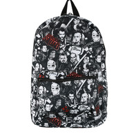 DC Comics Suicide Squad Photo Colllage Backpack