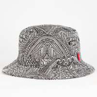 Vans Zio Z Mens Bucket Hat Black/White