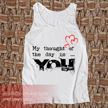 You Casual Wear Sporty Cool Tank top Funny Tank Cute Direct to garment
