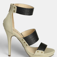 Tudor Peep Toe Pumps - $59.00 : ThreadSence, Women's Indie & Bohemian Clothing, Dresses, & Accessories