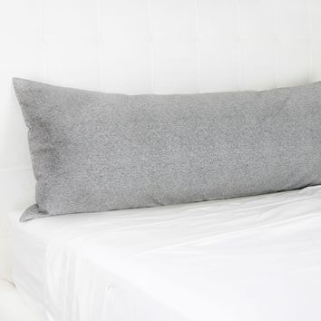 Perfect Grey Body Pillow Cover