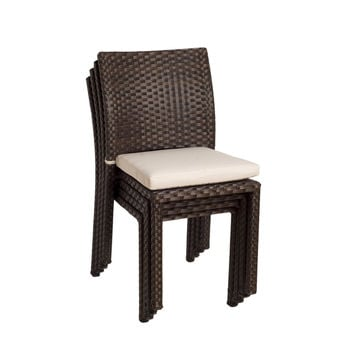 Atlantic Liberty Stackable Chairs, 4-Pack