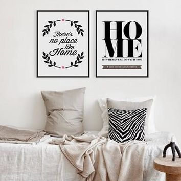 Black White Motivational Quote  Large Poster Print Minimalist Picture Canvas Painting No Frame Nordic Home Decor Wall Art Gift