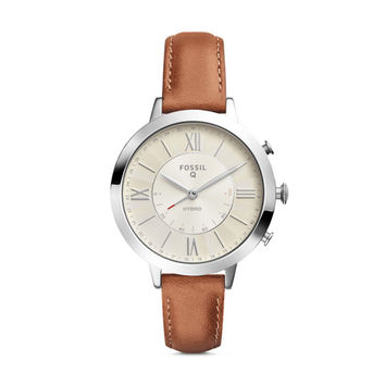 Hybrid Smartwatch - Q Jacqueline Luggage Leather