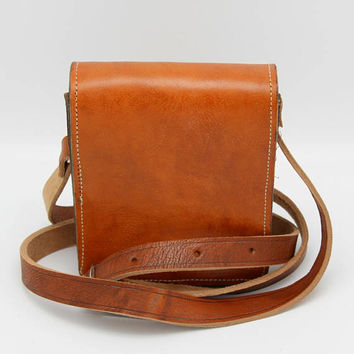 Crossbody bag purse,mens crossbody bag, leather crossbody , small brown messenger, mini leather bag,  mens leather bag, leather shoulder bag