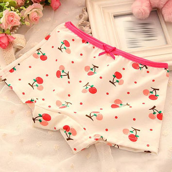 Kids Character Cotton Short Pant Cartoon Flower Pyjama Trousers Girls Underpant