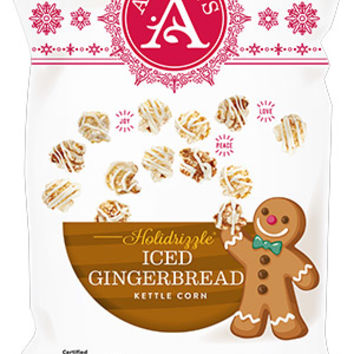 Holidrizzle Iced Gingerbread - Angie's Popcorn, Angie's Kettle Corn, BOOMCHICKAPOP
