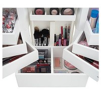 Luxurious Wooden Make Up Organizer | Modern House Insight