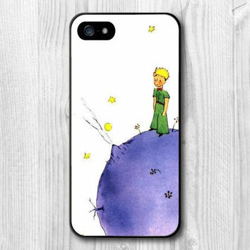 Little Prince book Lovely Cartoon Print Pattern Protective Cover Case For iPhone 4 4s 5 5s 5c 6 6s 6plus 6s plus