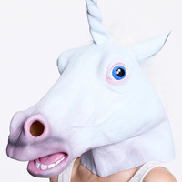 Unicorn Mask at Urban Outfitters
