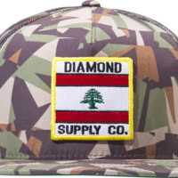 Diamond My Country Mesh Hat Adj-Camo