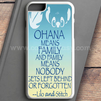 Ohana Means Family Lilo And Stitch iPhone 6 Case | casefantasy