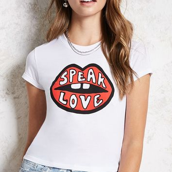Speak Love Graphic Tee