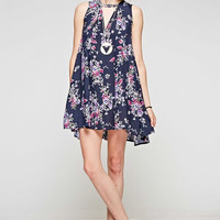 Brunch Print Mini Dress