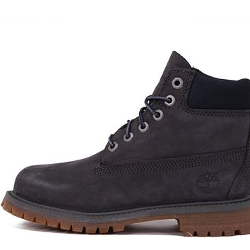 AUGUAU 6 INCH PREMIUM WATERPROOF BOOT (YOUTH) - FORGED IRON