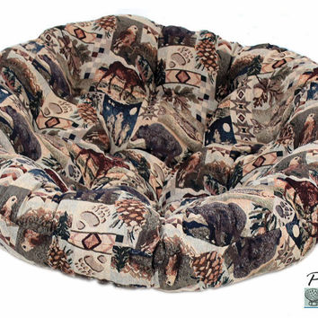 "42"" Papasan Cushion in Tapestry Fabric (Cushion Only)"