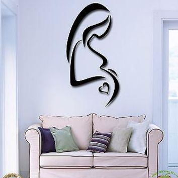 Wall Stickers Vinyl Decal Birth Pregnancy Pregnant Mother And Child  Unique Gift (z2074)