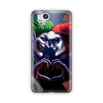 Harley Quinn And Joker Love Google Pixel 3 XL Case | Casefantasy
