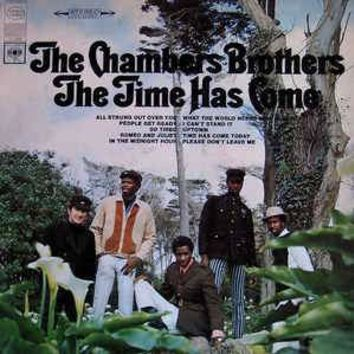 The Chambers Brothers - The Time Has Come (LP, Album)