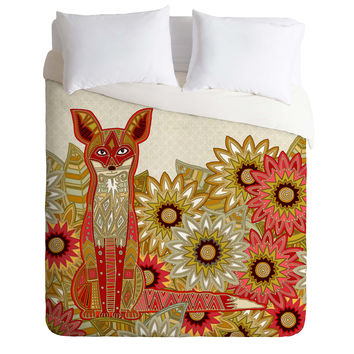 Sharon Turner Garden Fox Duvet Cover