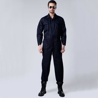 Men Long Sleeve One Piece Workwear Overalls Boilersuit Coveralls Boiler Suit @Sz