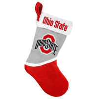 Ohio State Buckeyes Basic Holiday Stocking - 2015