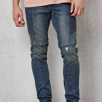 PacSun Stacked Skinny Moto Flex Stretch Jeans at PacSun.com