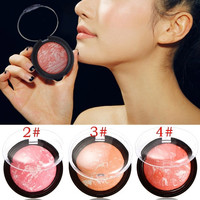 Pro Fashion Beauty Makeup Cosmetic Blush Blusher Powder Palette Free Shipping DHL UPS EMS K5BO