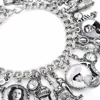 Hollywood Movie Star Charm Bracelet