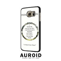 Pierce The Veil Song Lyrics Samsung Galaxy S6 Edge Case Auroid