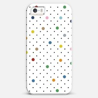 Pin Point Polka Dot iPhone 5s case by Project M | Casetify