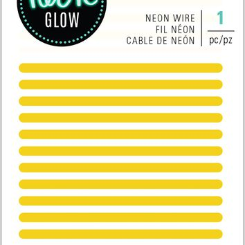 Heidi Swapp Neon Lights Wire 8'-Yellow