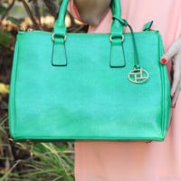 Make It Or Not Purse: Kelly Green