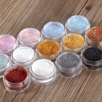 Make Up Shimmer Powder Fine Dust Glitter Eye Shadow/Nail Art/Face/Body/Craft [8833973836]